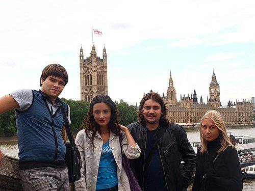 Британский дебют (Лондон и Эдинбург, 2010)