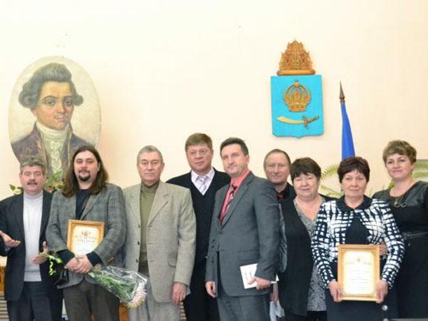 церемония награждения Литературной премии Ивана Хемницера
