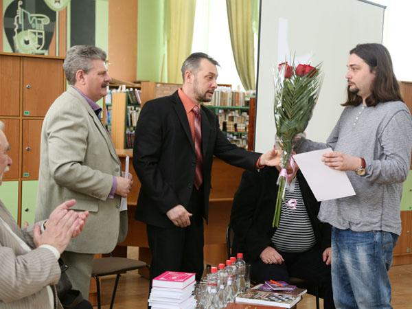 Александр Гриценко на церемонии награждения премии имени Бориса Шаховского