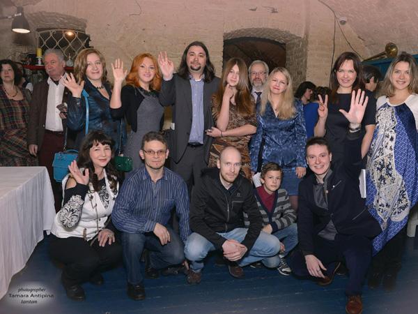 Наш литературный вечер в «Шагале» удался!